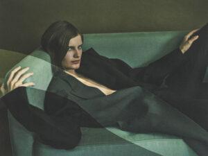 Givenchy palto ve pantolon.
